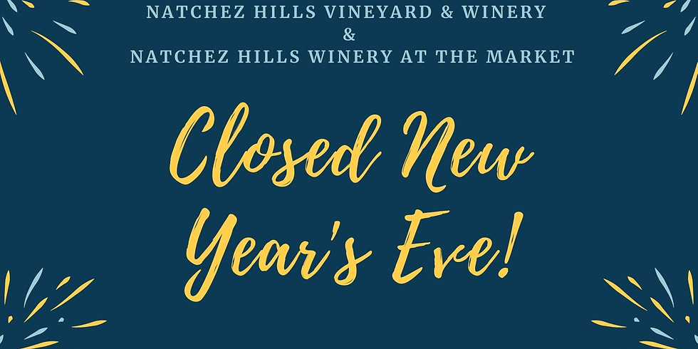 Closed New Year's Eve
