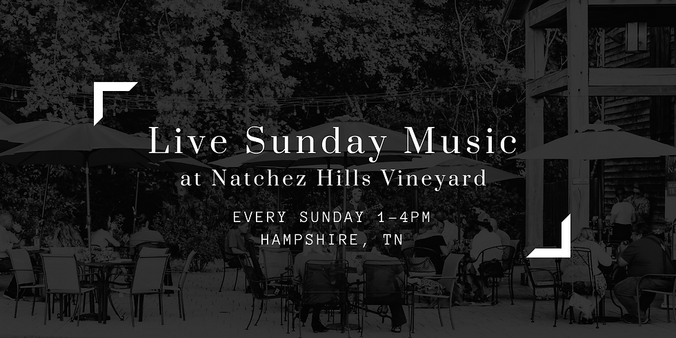 Live Sunday Music - CANCELED