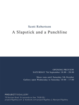 Scott Rpbertson - A Slapstick and a Punchline