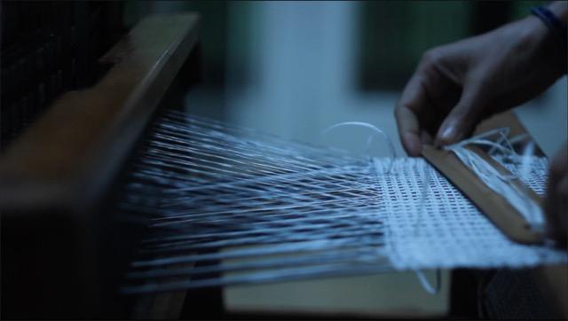 Warping Threading Weaving Drawing