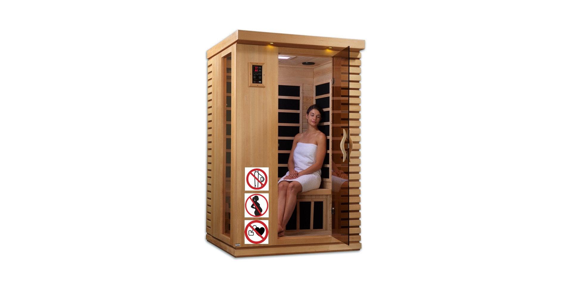 1 sessão sauna infravermelha 30'