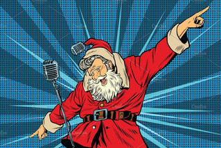 Santa Has Left The Building.