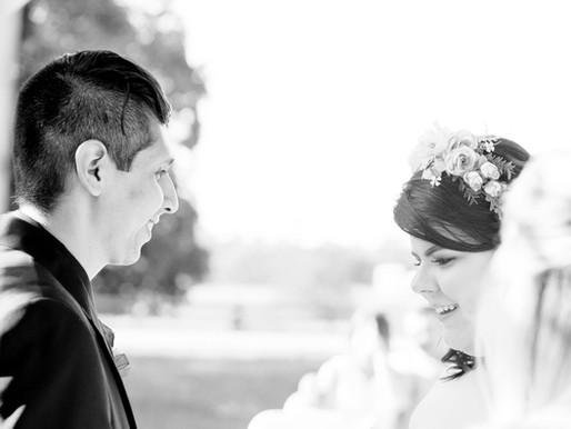Eloped Couple hold Ceremony for Family a year later | Carrollton GA Farm | Wedding Photographer