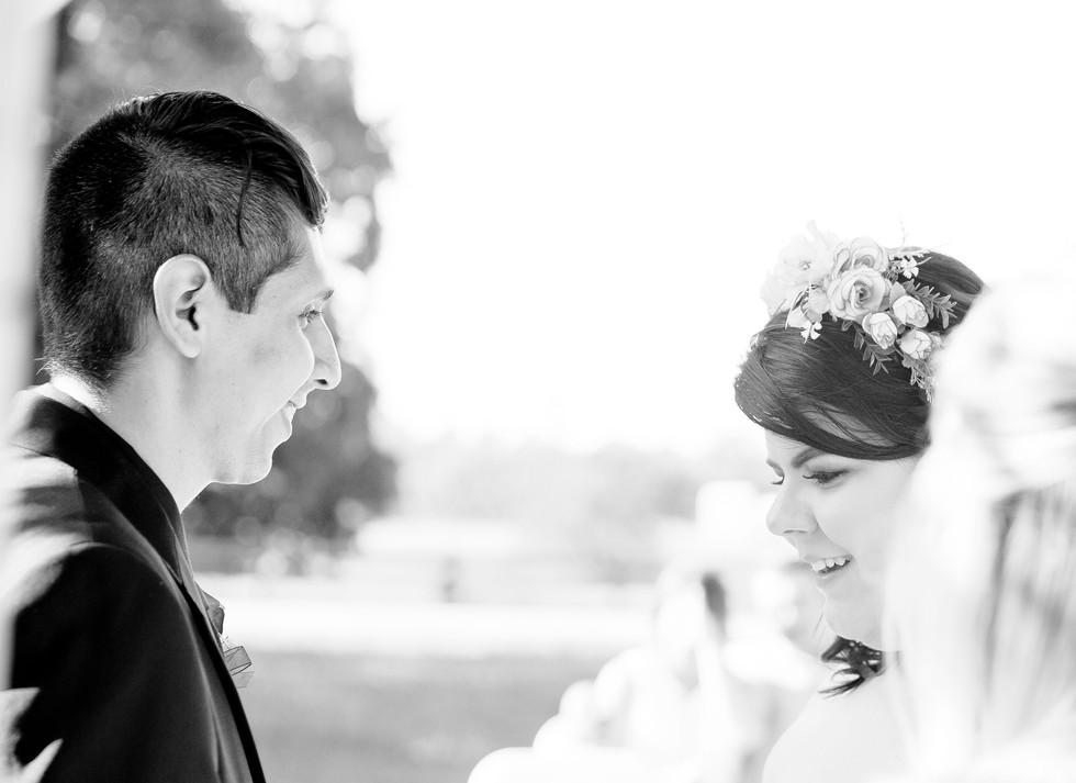 Intiment Wedding Couple Black and White, very detailed, Wedding photograph Carrollton Georgia