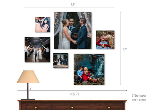 Tips for displaying your portraits in your home | Atlanta Fine Art Portrait & Wedding Photographer