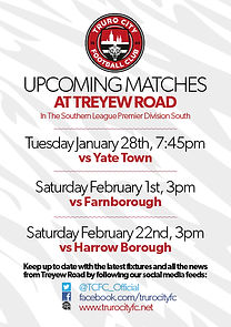 TCFC Fixtures Leafleat Jan-Feb