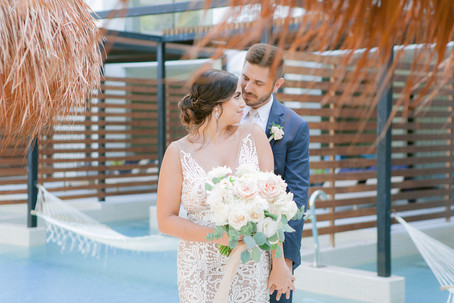 Bridal Flowy Messy Updo By Sandy Mendez