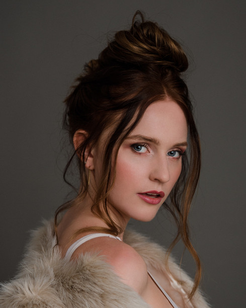 Editorial Beauty Portrait By Sandy Mende
