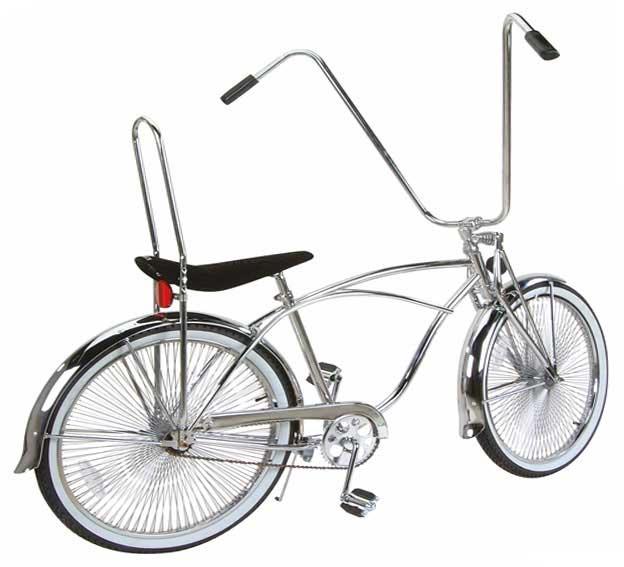 """bicycle High Back 42/"""" Sissy Bar Chrome."""