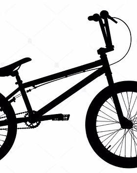 bmx-bike-silhouette-on-white-background-