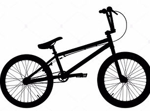 bmx-bike-silhouette-on-white-background-