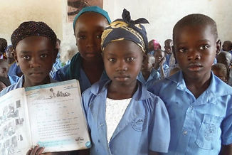 Education projects, childrens in orphan in Africa
