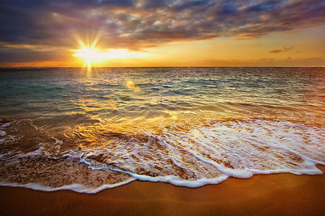 beach healthy life body wellness relax happy ocean