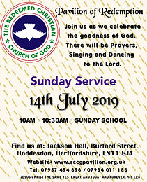Sunday Service