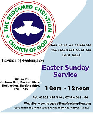 Special Easter Sunday Service