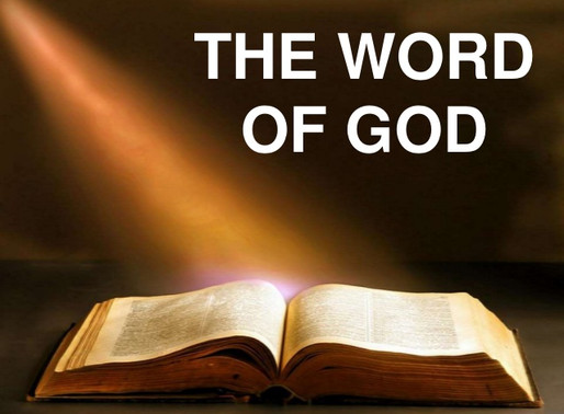 The Word of God - A Powerful Weapon