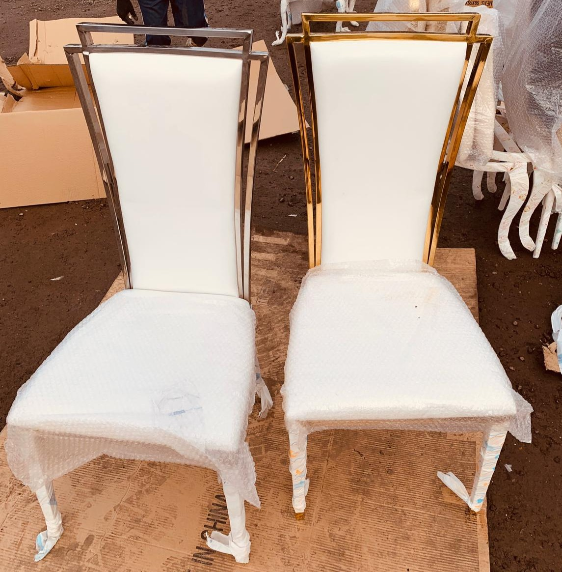 Arabella Framed Throne Chairs