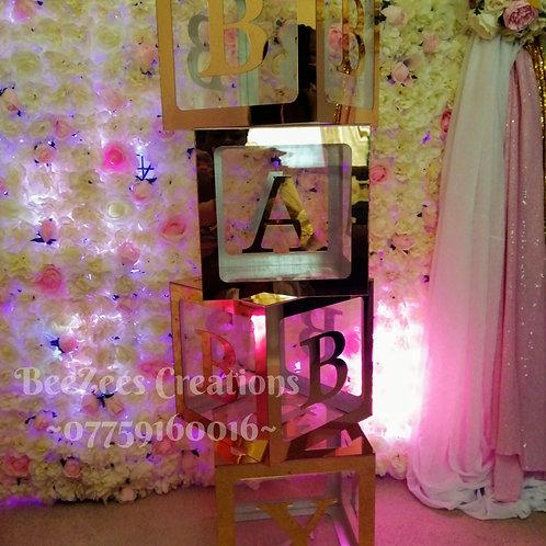 Acrylic BABY Letter Block