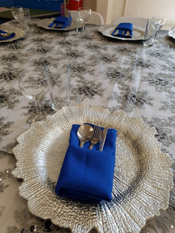 Silver Reef Charger Plates