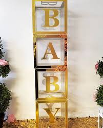 Acrylic BABY Letter Block