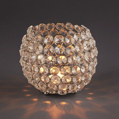 Crystal Tea Light Holder