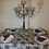 Thumbnail: 75cm 5-Arm Crystal Candelabra Centerpiece