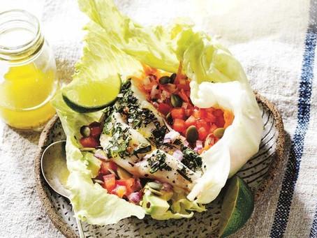 Recipe - Healthy fish 'tacos'