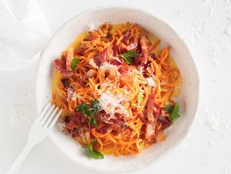 Recipe - Healthier No-pasta Carbonara