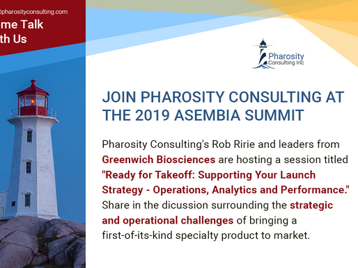 Pharosity Consulting to Present at the 2019 Asembia Summit