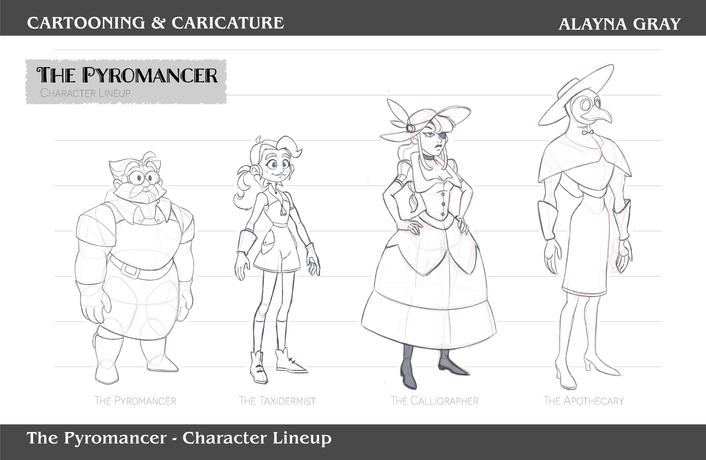 Cartooning & Caricature-ThePyromancer-04