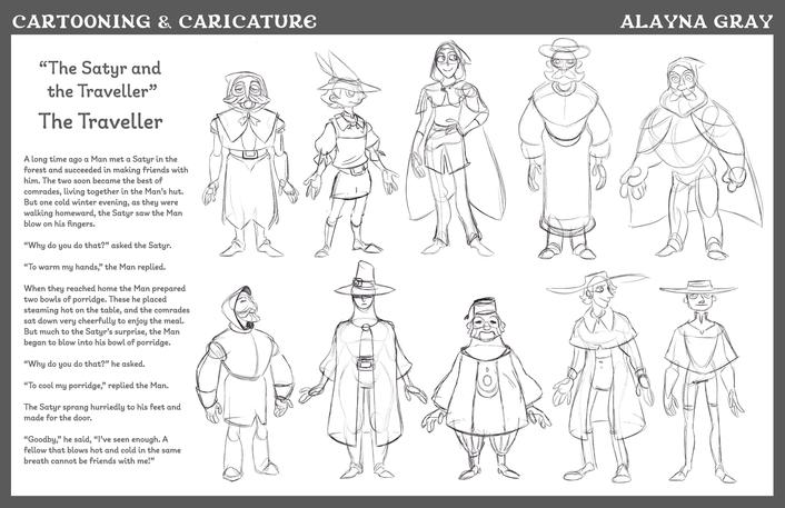Cartooning & Caricature-TheTraveller-01.
