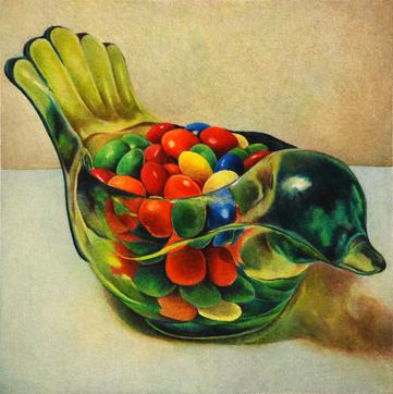 Copy of Little Glass Birdie