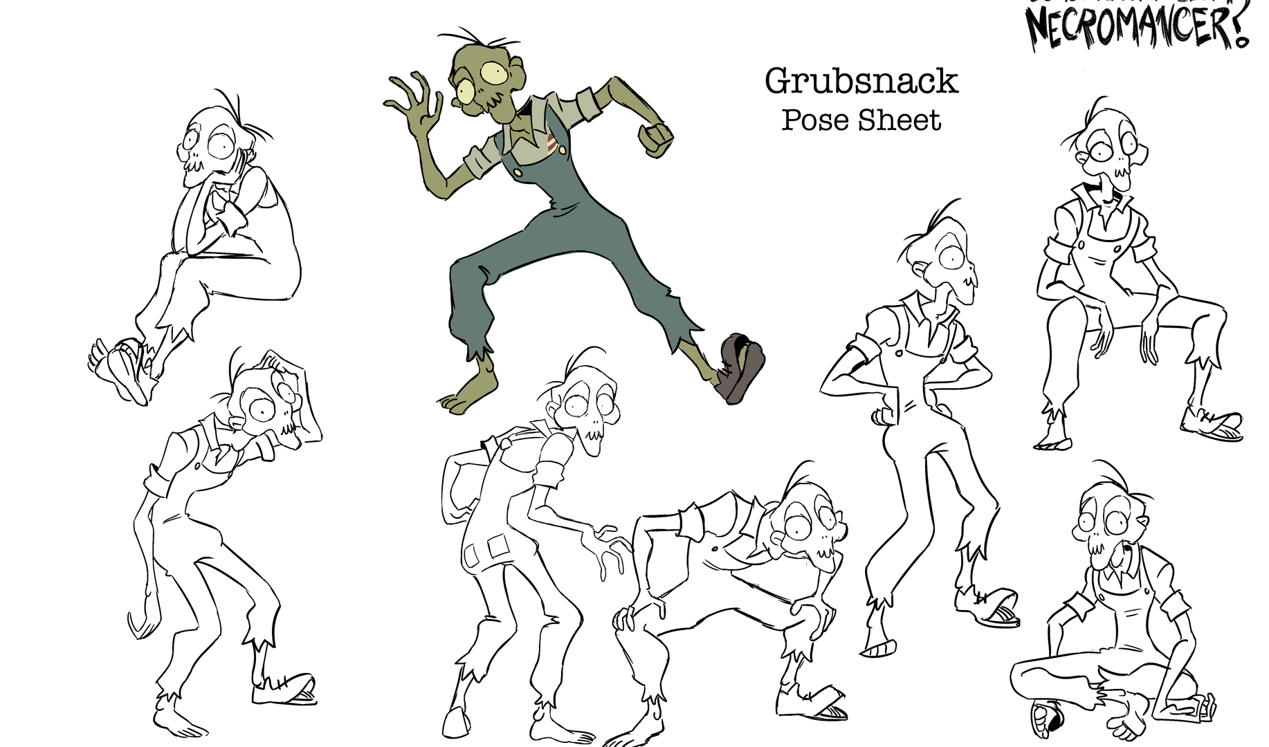 Pose Sheet - Grubsnack
