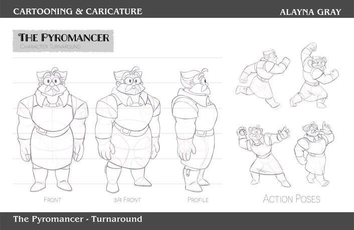Cartooning & Caricature-ThePyromancer-01
