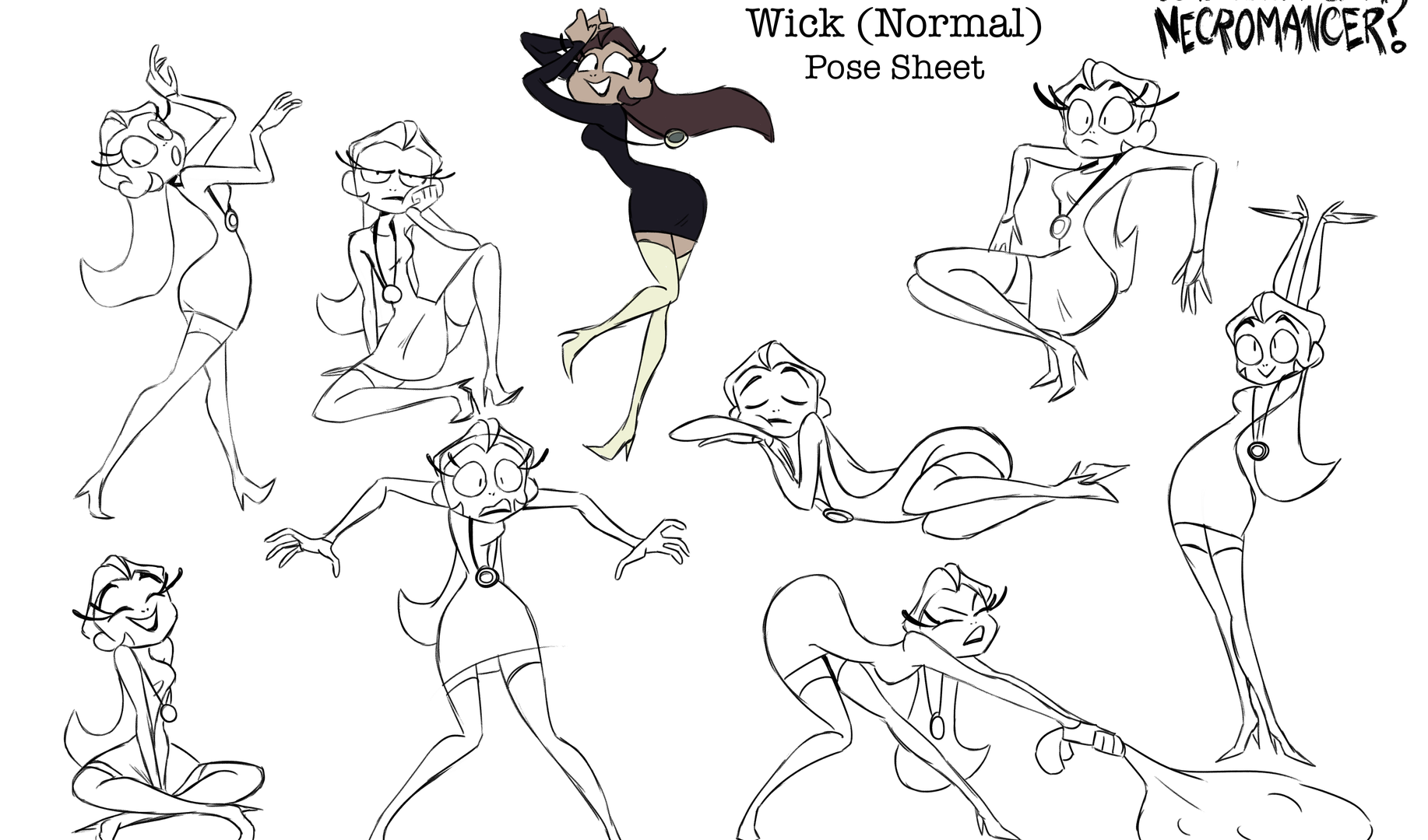 Pose Sheet - Wick (Normal)