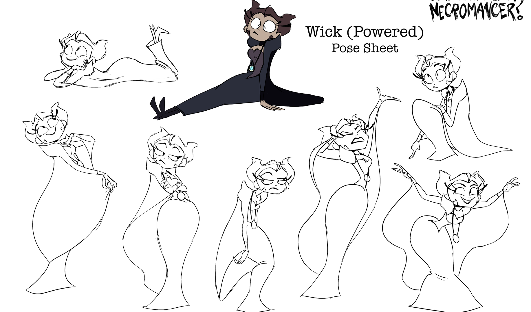 Pose Sheet - Wick (Powered)