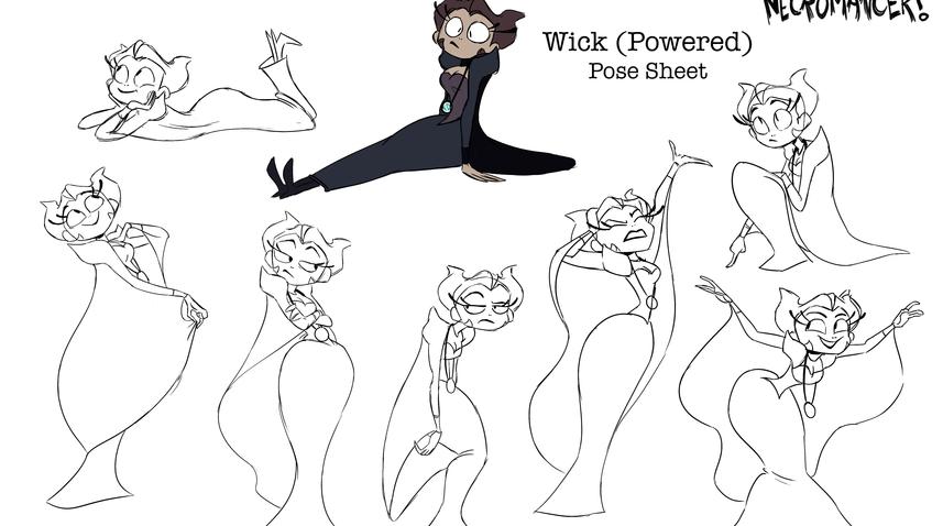 Pose Sheet - Wick (Powered)