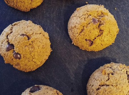 Quarantine Cooking: Collagen Protein Chocolate Chip Cookies.