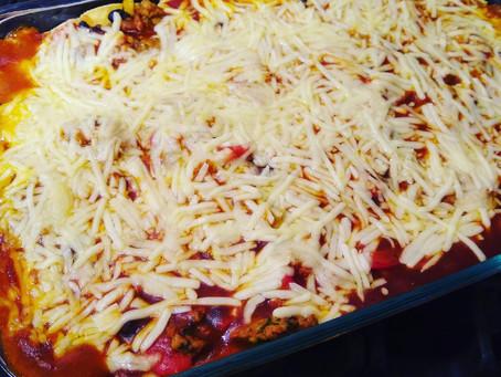 Quarantine Cooking: Enchilada Bake