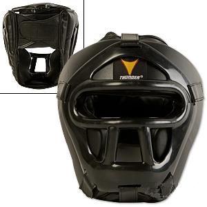 ProForce® Thunder Vinyl Head Guard w/ Face Shield