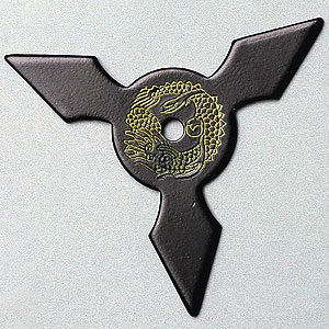 Pyramid Star (Black)