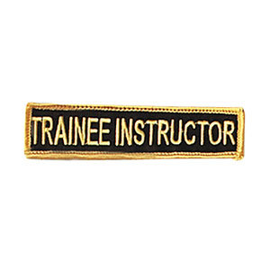 Trainee Instructor Rank Patch