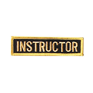 Instructor Rank Patch