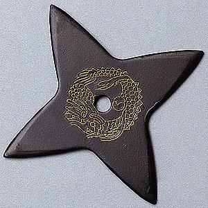 Ninja Dragon Star-Black