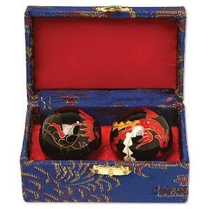 Baoding/Cloisonné Hand Stress Balls - 8438 & 8436