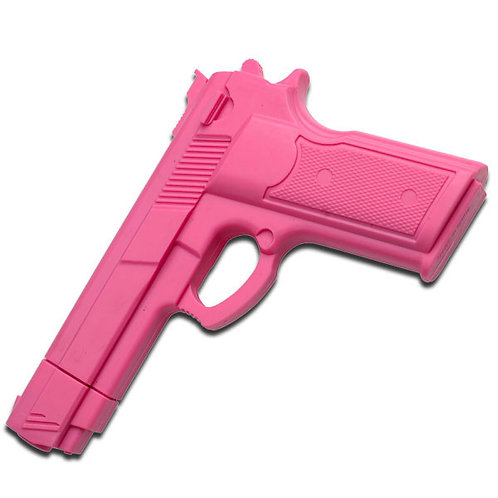 Rubber Training Gun (Pink)