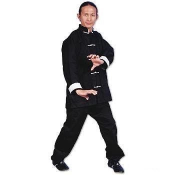 ProForce® Gladiator Kung Fu Uniform - White Button