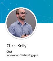 Chris Kelly souriant pour sa photo de profil LinkedIn