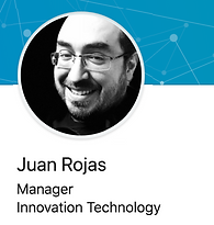 Juan Rojas smiling
