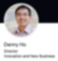 Danny Ho smiling in his LinkedIn profile photo